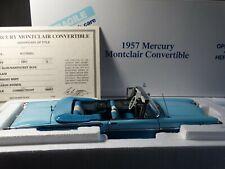 Danbury Mint 1957 Mercury Montclair Convertible 1:24 Scale Diecast Model Car