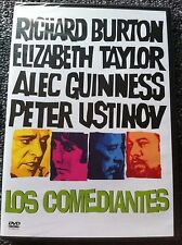 THE COMEDIANS - DVD Region 2/UK- Richard Burton, Elizabeth Taylor, Alec Guinness