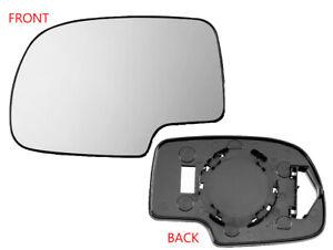 For Mirror Glass Non-Heated for 1999 - 2007 SILVERADO SIERRA Driver Left Side