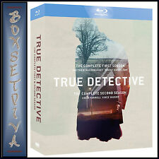 True Detective Seasons 1 to 2 Complete Collection Blu-ray UK BLURAY