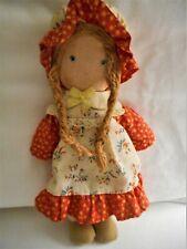 "Vintage Knickerbocker 9"" Holly Hobby Friend Carrie Doll 1970's"