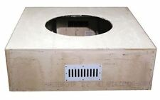 Hpc 60 Inch Tapered Square Unfinished Firepit Enclosure Only