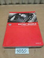 Harley-Davidson 2007 Softail Models Factory Shop Service Repair Manual 99482-07