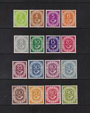 Postfrische Briefmarken aus der BRD (1948-1954) mit BPP-Fotoattest