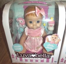 LuvaBella Interactive Baby Doll Blonde Brand New