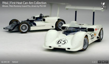 Chaparral 2e #65 Hill 1st 1966 Laguna Seca 2 Cars Exoto #rlg18162 1/18
