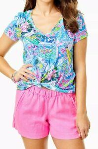 """4"""" Lilo Linen Short Prosecco Pink"""