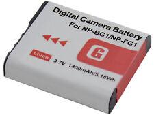 new 2pcs NP-BG1 Battery + Dual Charger for DSC-W220 W270 W290 W300 W40 W85 NPFG1