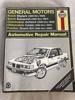 Haynes 38025 Repair Manual. Buick Skylark Somerset, Oldsmobile, Pontiac Grand Am