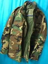 US Army Military ECWCS Cold Weather Gore-Tex Hooded Parka Coat Jacket Large Long