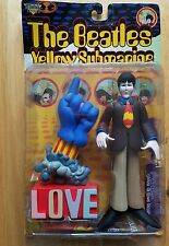 Complete Set of 4 McFarlane Toys Beatles Yellow Submarine Figurines NIB