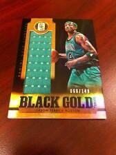 4cbcad4dede JASON TERRY 2012-13 PANINI BLACK GOLD JUMBO GUAME-USED CELTICS JERSEY PATCH  /