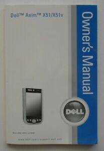 Dell Axim X51/X51v PDA Owner's Manual