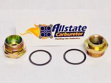 26-26 Holley Carburetor Parts 2 New Fuel Inlet Nuts