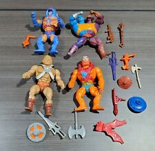 OH49 VINTAGE 1980'S MATTEL MASTERS OF THE UNIVERSE HE MAN BEAST MAN ETC