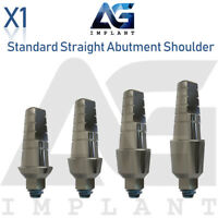 Standard Straight Abutment With Shoulder For Dental Implant Internal Hex