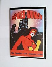 Spider-Woman 1979 Complete Animated Cartoon Series 3 DVD Set