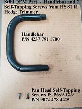 Stihl Oem Part from Hs 81 R Hedge Trimmer *Handlebar/Screws P/N 4237 791 1700