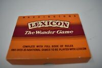 Vintage Waddingtons Lexicon The Wonder Board Game