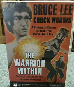 Bruce Lee & Chuck Norris - The Warrior Within - DVD Documentary Martial Arts