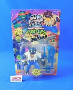 Leo as The Wolfman Universal Monsters Ninja Turtles TMNT 1993 Playmates New