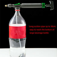High Pressure Air Pump Manual Sprayer Adjustable Drink Bottle Spray Head Nozzle