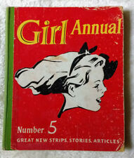 Girl Annual No 5, 1956. HC - GC - Great new strips, stories, articles