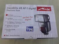 Flash Metz Mecablitz 48 AF-1 Digital Para Canon