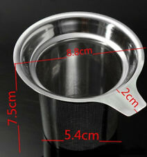 Stainless Steel Fine Mesh Filter Tea Infuser Fine Reusable Strainer one piece