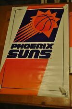 VINTAGE PHOENIX SUNS LOGO POSTER NEW IN WRAP NO TEARS NO TAPE NO PIN HOLES