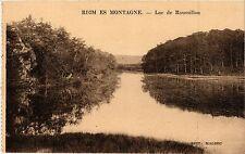 CPA   Riom es Montagne - Lac de Roussillou  (435908)