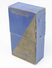 VOIGTLANDER BOX ONLY FOR BESSA (6.3 VOIGTAR IN PRONTOR)/166918