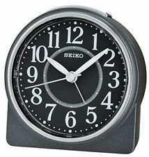 Nero Seiko Unisex Sveglia analogica Qhe137 K Orologio 4517228830075 (bya)