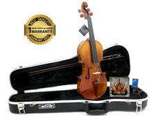 D'Luca Strauss 900 J.S. Antique Finish Violin SKB Case, Evah Pirazzi Strings