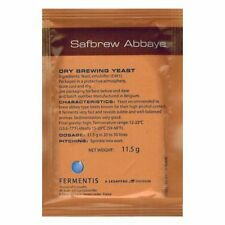 Fermentis Safbrew Abbaye BE-256  Beer making brewers yeast for home brew ale