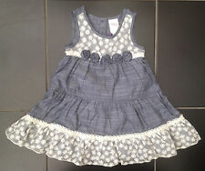 ВNWT Party Outfit • Lidia Jane Grey Lace Dress with Pants • 100% Cotton • 2-3yrs