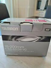 Tamron Kamera Objektiv 18-200mm f3.5-6.3 Di II VC für Nikon - WIE NEU! OVP!