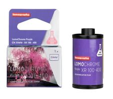 2 x Lomography Lomo LomoChrome Purple Xr 100-400 Iso 35mm 36exp Color Film - Us