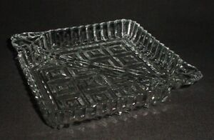 Divided Glass Condiment Tray