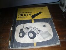 GENUINE 1967-68 JOHN DEERE JD544 544 TRACTOR LOADER PARTS CATALOG MANUAL (F24)
