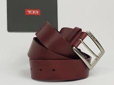 Tumi Genuine Leather Belt