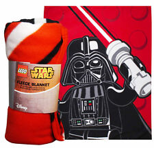 LEGO STAR WARS DARTH VADER LARGE FLEECE BLANKET NEW