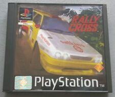 Jeu RALLY CROSS - Sony Playstation 1 (PS1) - Version PAL - Complet