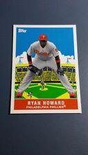 RYAN HOWARD 2007 TOPPS FLASHBACK FRIDAYS CARD # FF1 A8790