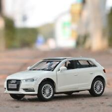 Audi A3 1:32 Model Cars Toys Sound&Light Collection&Gift Alloy Diecast White New
