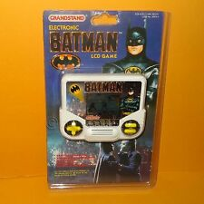 VINTAGE TIGER GRANDSTAND ELECTRONIC BATMAN HANDHELD LCD VIDEO GAME CARDED RETRO