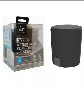 Kitsound HIVE2O Waterproof Bluetooth Speaker Bass Boost Up to 8 hrs