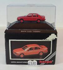 Herpa 1/87 PC bmw 535i rojo OVP #6370