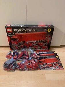 Lego Racers 8654 Scuderia Ferrari Formel 1 Truck F1 City Cars Auto TOP Formula 1
