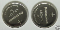 2 Pcs Panasonic CR2477 CR 2477 3V Lithium Button Cell Batteries